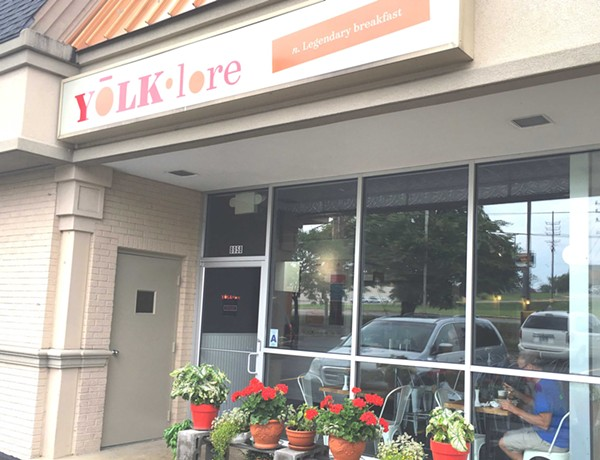 Yolklore is located in Crestwood. - PHOTO BY LAUREN MILFORD