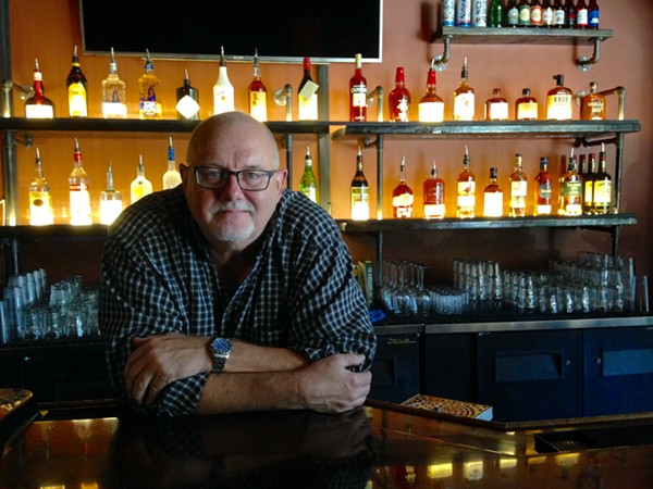 Doug Fowler, owner of Thurman's in Shaw, opened the corner bar after major renovation. - PHOTO BY DOYLE MURPHY