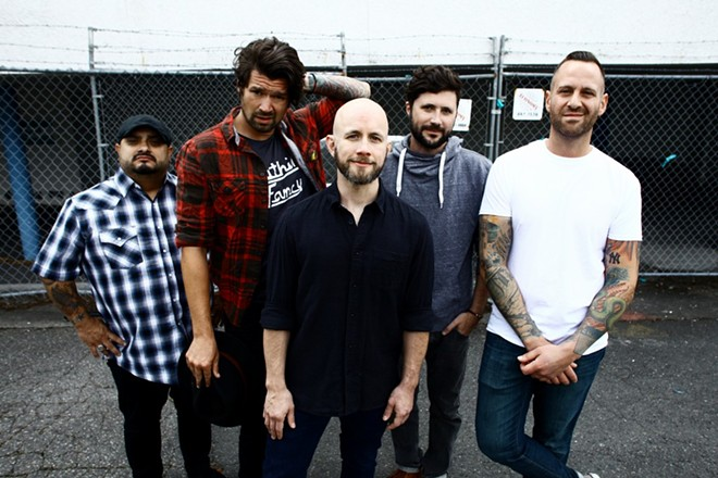 Taking Back Sunday will perform at the Ready Room on Friday, September 23. - PHOTO BY RYAN RUSSELL