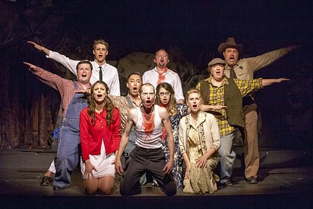 Stray Dog's Bat Boy: The Musical -- just one of the many plays you could have seen last year in St. Louis. - JOHN LAMB