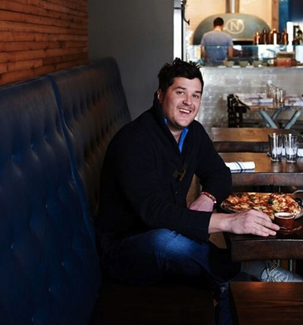 Chef Mike Randolph: always restless, always brilliant. - PHOTO BY GREG RANNELLS