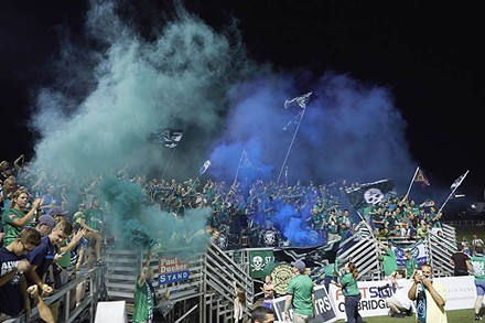 The St. Louligans aren't your father's fan club. - PHOTO BY JASON PATRYLO