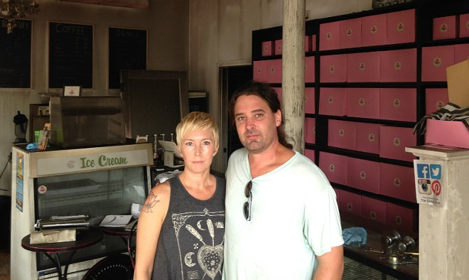 Jenna and Jason Siebert plan to rebuild the Sweet Divine bakery after a fire. - PHOTO BY DOYLE MURPHY