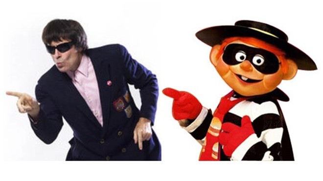Which would you rather be for Halloween: A stale mid-80s fast food mascot — or the Hamburglar? - BEATLE BOB PHOTO BY LYNN TERRY