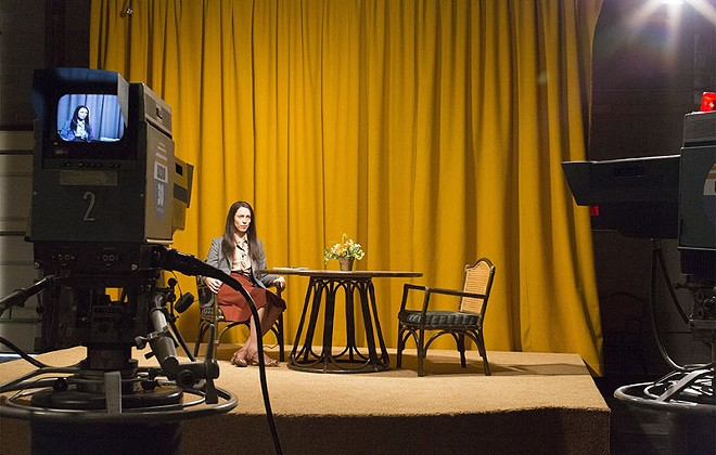 Rebecca Hall plays a troubled TV host in Christine. - JONNY COURNOYER COPYRIGHT YES BUT FILM