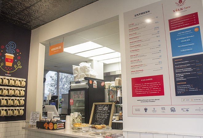 A look at the walk-up counter. A drive-through is also available. - PHOTO BY MABEL SUEN