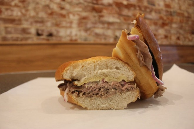 The French Dip is the signature dish at Eat Sandwiches. - CHERYL BAEHR