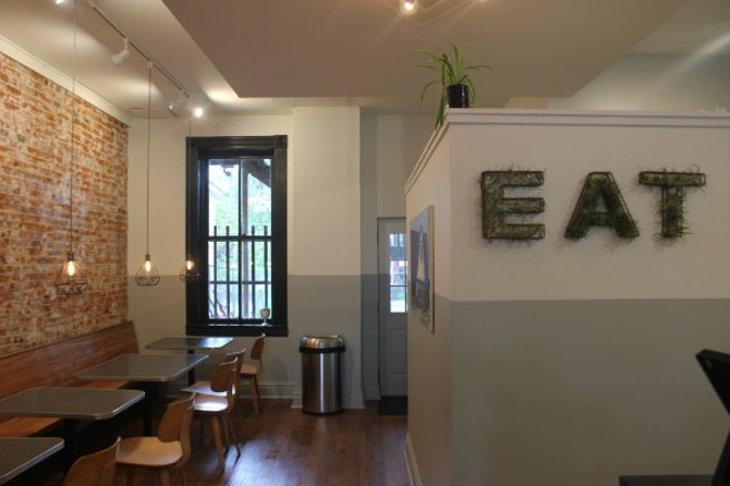 Eat Sandwiches has a cozy dining room. - CHERYL BAEHR