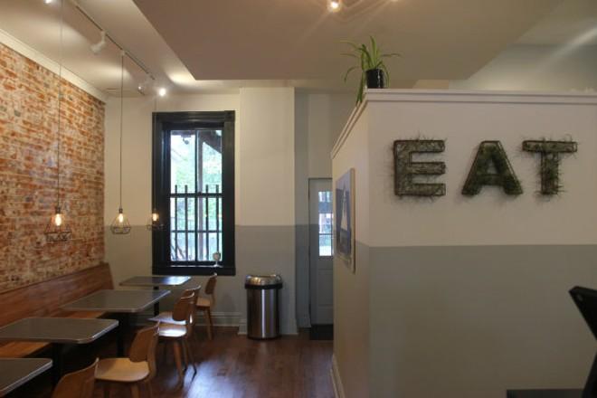 Eat Sandwiches has a cozy dining room. - CHERYL BAEHR