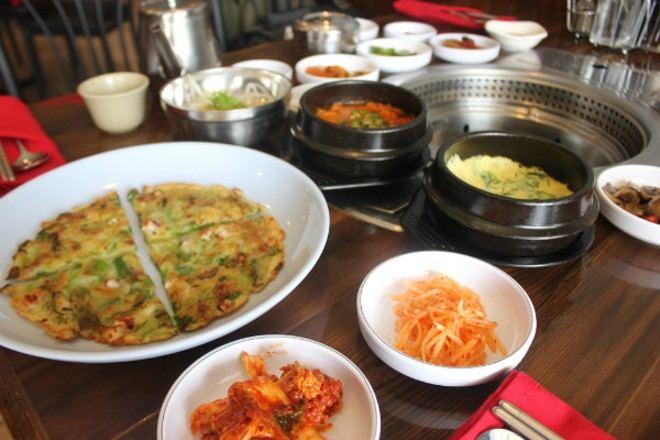 Dinner at Wudon is a feast. - CHERYL BAEHR