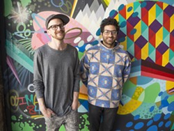 RKDE co-owners Rob Fulstone and Kaveh Razani - PHOTO BY JOSEPH HESS