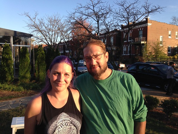 Rob Ludwig and girlfriend Emma have mostly healed from a September 25 attack. - PHOTO BY DOYLE MURPHY