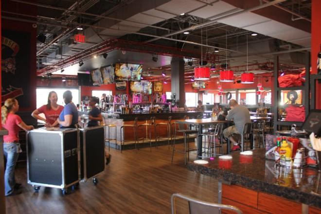 Rock & Brews has a massive open dining room. - CHERYL BAEHR