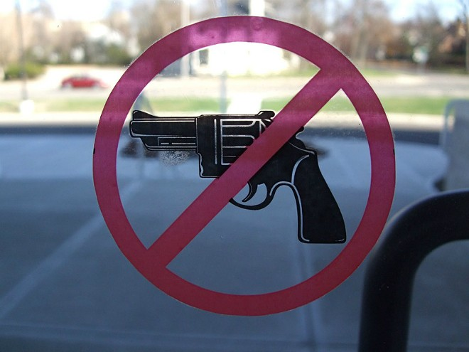 Gun restrictions on college campuses could be a thing of the past. - SCOTT BEALE / LAUGHING SQUID