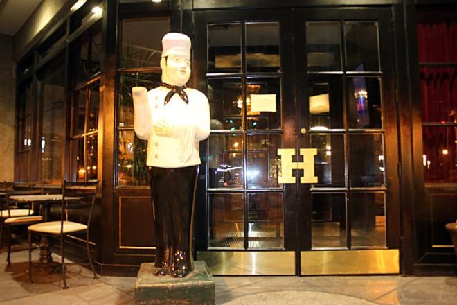 Chef Bonzo is liking his new digs. - CHERYL BAEHR