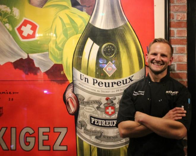 Herbie's executive chef Chris Vomund. - CHERYL BAEHR