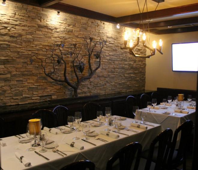 Herbie's large private dining room. - CHERYL BAEHR