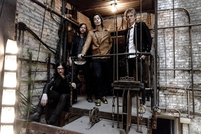 The Raconteurs will perform at the Pageant on Friday, October 18. - VIA THIRD MAN RECORDS