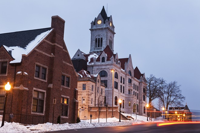 The Cole County courthouse in Jefferson City. - SHUTTERSTOCK/HENRYK SADURA
