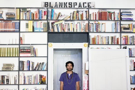 Blank Space owner Kaveh Razani - PHOTO BY MABEL SUEN