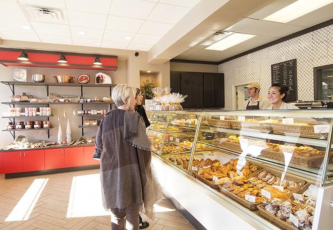Co-owner Lee Lee Reid greets customers. - PHOTO BY MABEL SUEN
