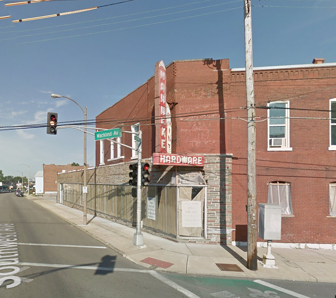 The building sits at Macklind and Southwest. - IMAGE VIA GOOGLE EARTH