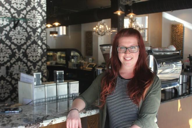 Sarah Walter is Colleen's cookie artist in residence. - CHERYL BAEHR