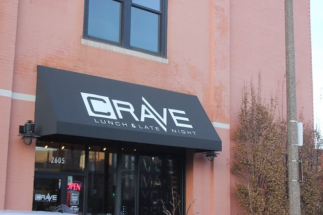 The restaurant is open just west of Jefferson on Washington Avenue. - PHOTO BY SARAH FENSKE