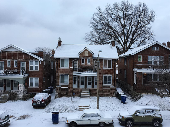 Snow looks good on you, Dogtown. - PHOTO COURTESY OF INSTAGRAM / KATEHEARTSCAKE.