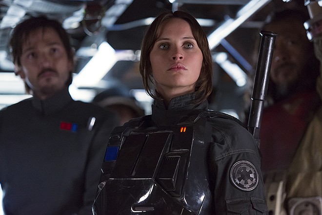 Celebrate Rogue One this weekend — for free — at the St. Louis Science Center. - (C) 2016 - LUCASFILM LTD., ALL RIGHTS RESERVED