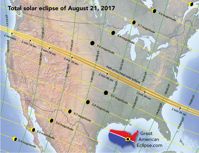 COURTESY OF GREAT AMERICAN ECLIPSE
