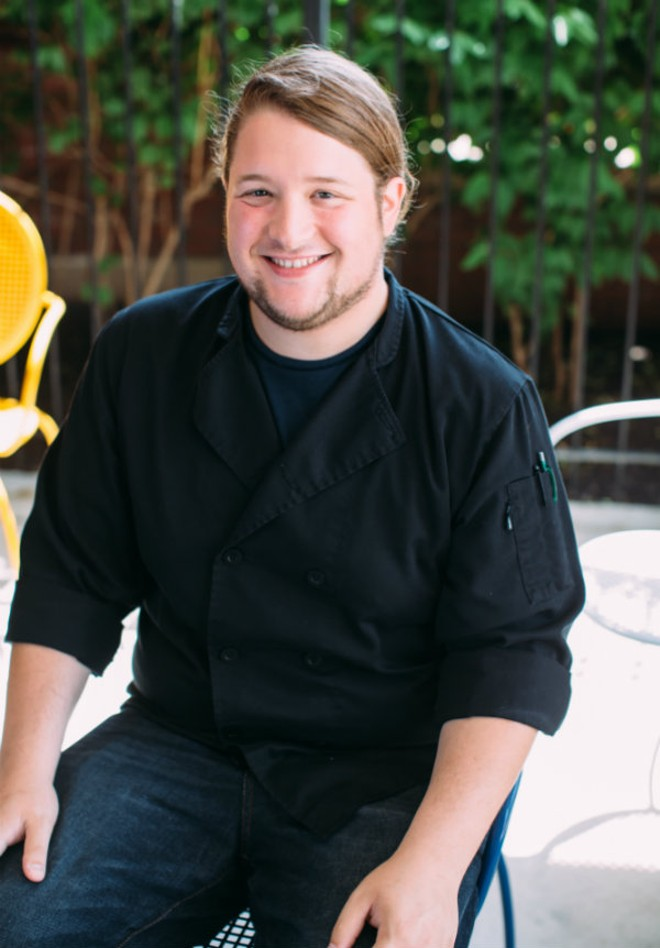 Retreat Gastropub's executive chef ,Michael Friedman. - J ELIZABETH PHOTOGRAPHY