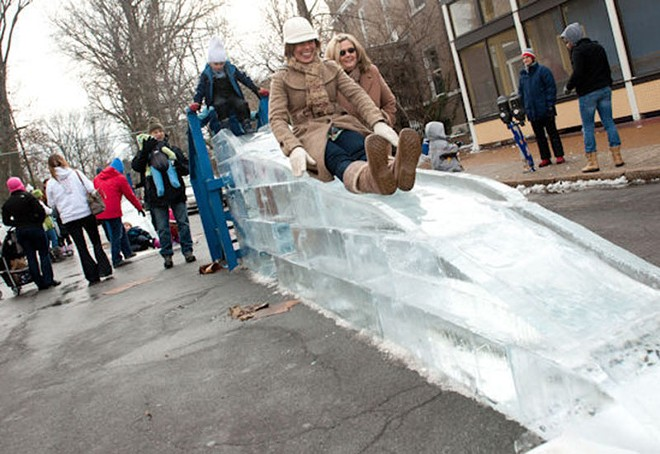 The Loop Ice Carnival should be an icy good time. - PHOTO BY JON GITCHOFF
