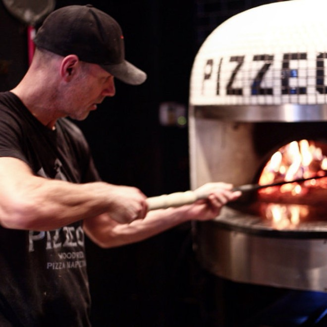 Scott Sandler, owner of Pizzeoli and the soon-to-be Pizza Head. - PHOTO COURTESY OF SCOTT SANDLER.