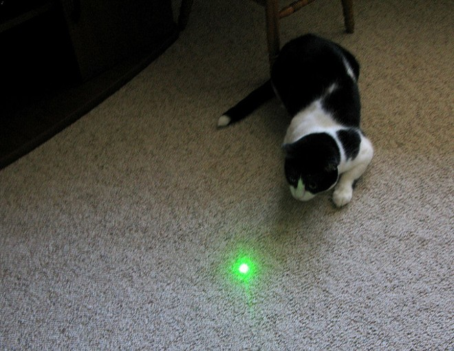 A Kansas City man was sentenced to three years in federal prison for shining a laser beam at a police helicopter. - PHOTO COURTESY OF FLICKR/FRANKIELEON