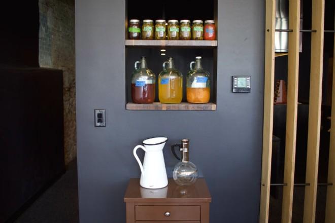 The bar area at Bulrush. - CHERYL BAEHR