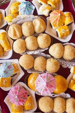 Desserts at Lu Lu. - PHOTO BY MABEL SUEN