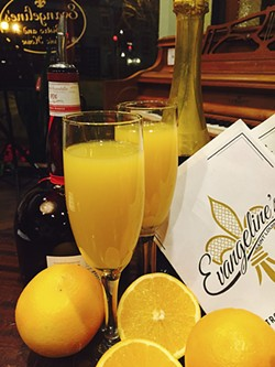 Evangeline's provides another option for limitless mimosas.