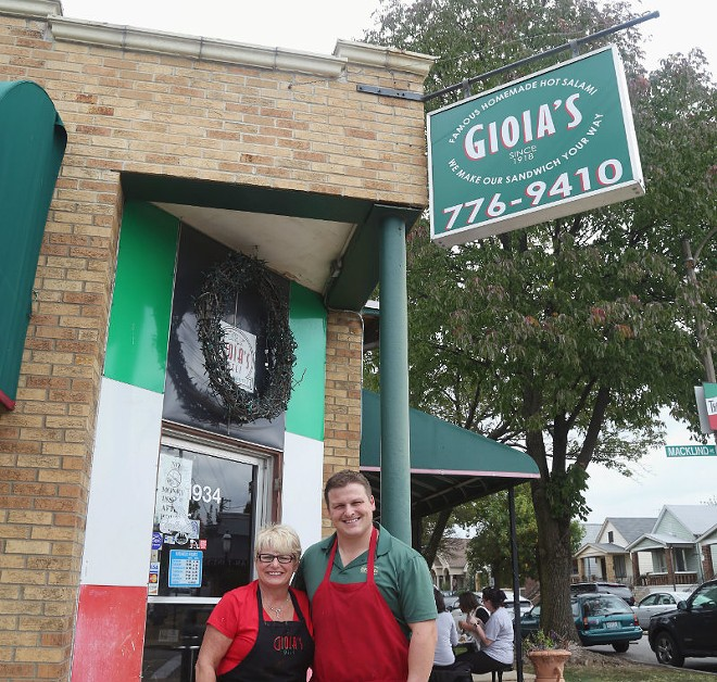 Cathy Donley and her son Alex Donley are the owners of Gioia's Deli. - COURTESY OF GIOIA'S DELI