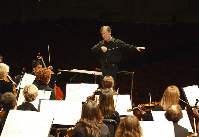 The Saint Louis Symphony Orchestra performs Wednesday at the Pulitzer. - SCOTT FERGUSON