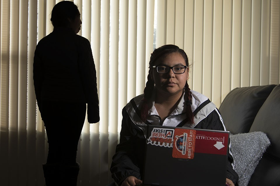 Areli Reyes, a student at St. Louis Community College-Forest Park, is hoping for a miracle.