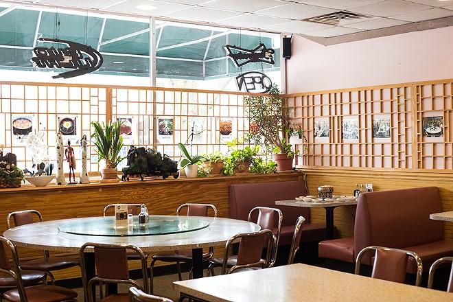 The dining area. - MABEL SUEN