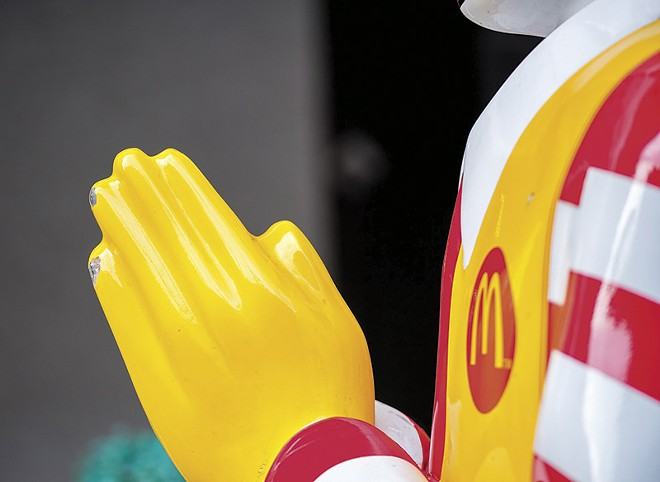 In Ronald we trust. - CHUCHAWAN/SHUTTERSTOCK