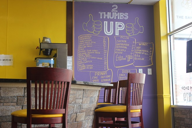 Order at the counter, and take a seat right there for easy service. - SARAH FENSKE