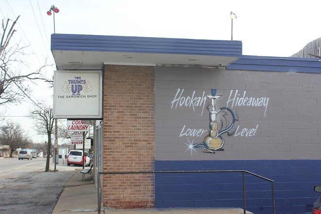 A hookah lounge operates in the basement on the weekends. A full menu is also available. - SARAH FENSKE