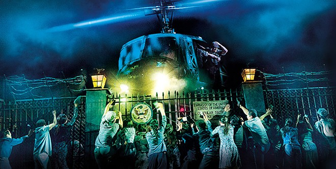 A revived Miss Saigon storms into the Fox Theatre this Tuesday. - MATTHEW MURPHY