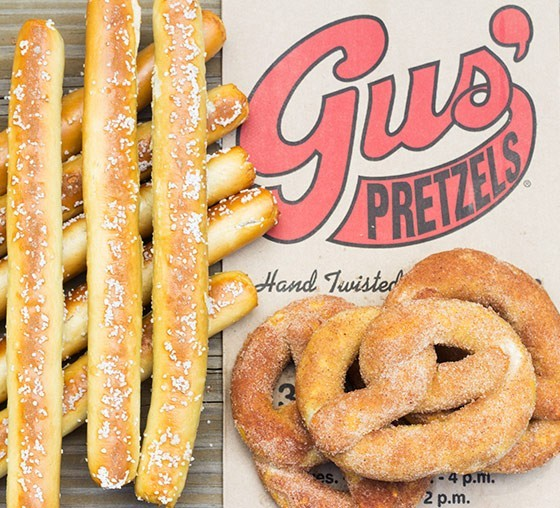 Gus' Pretzels has been in Benton Park for almost a century. - MABEL SUEN