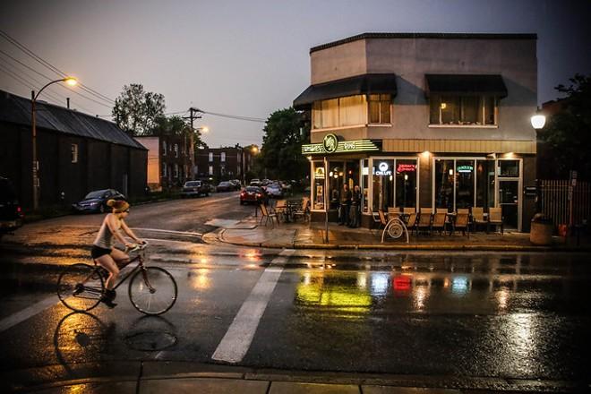 St. Louis' Cherokee Street draws young people seeking art, music and good food. - FLICKR/PAUL SABLEMAN