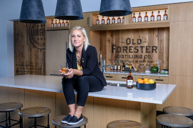 Jackie Zykan left St. Louis and found a new home in the bourbon business. - BROWN-FORMAN