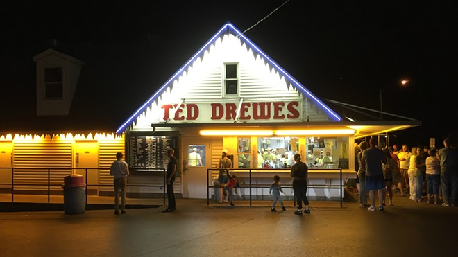 Happy birthday to Ted Drewes, a St. Louis classic. - JAIME LEES